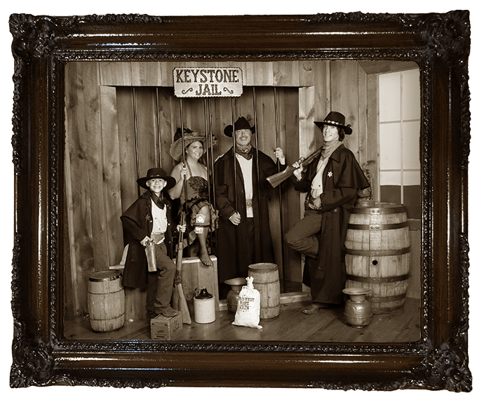 Old Time Jail Photo
