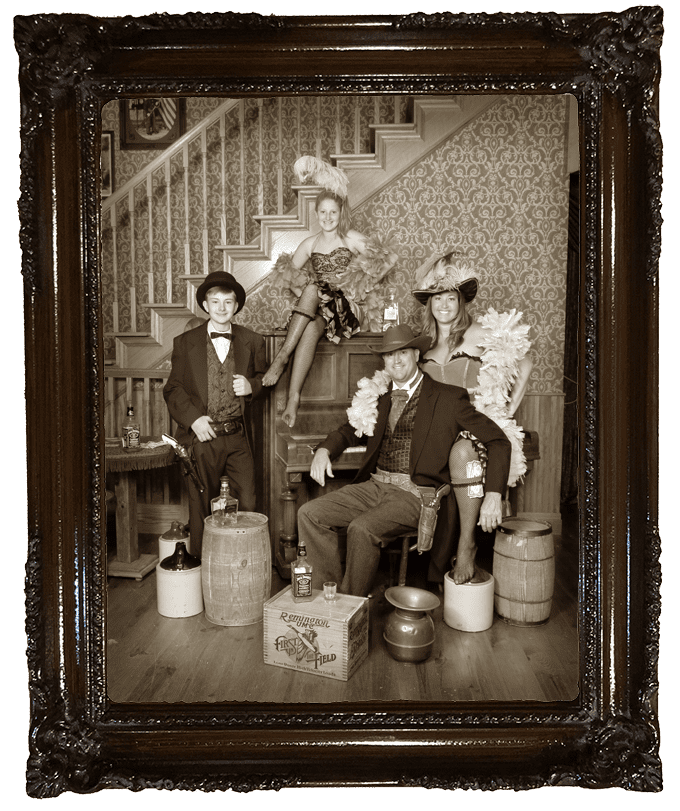 Old time photo roher family